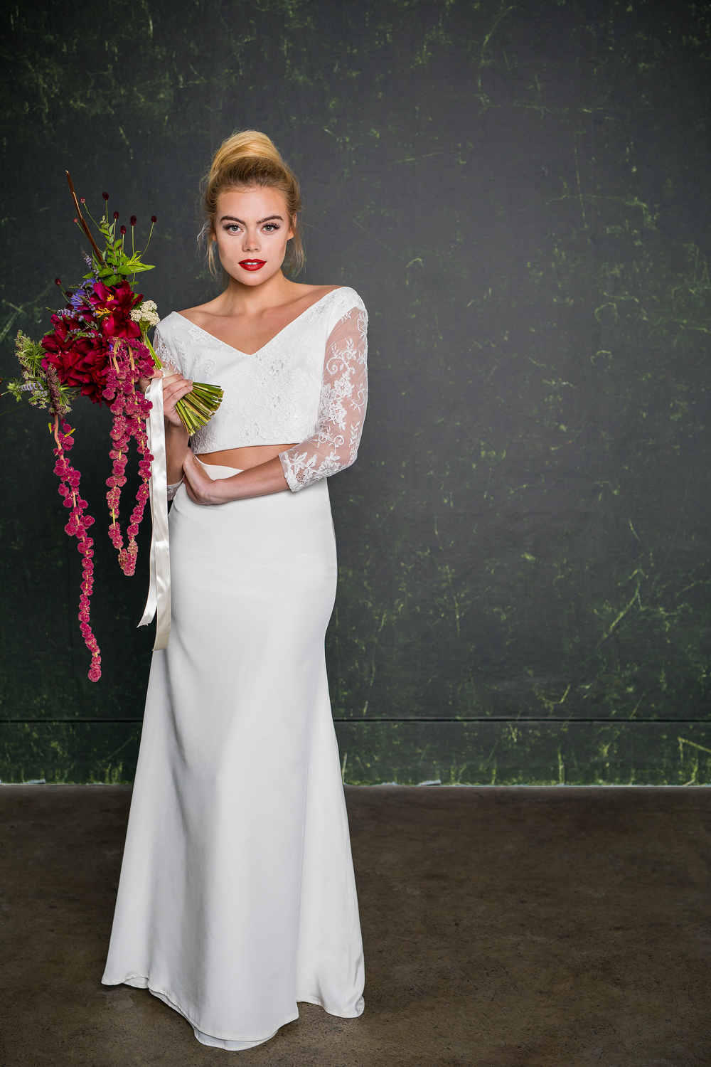 f29ff92f83b The skirt was inspired by a stunning bride of Ollichon who envisioned it.