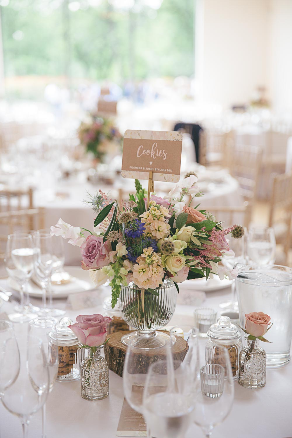 A Beautiful Rustic Surrey Wedding With Pastel Tones And Biscuit