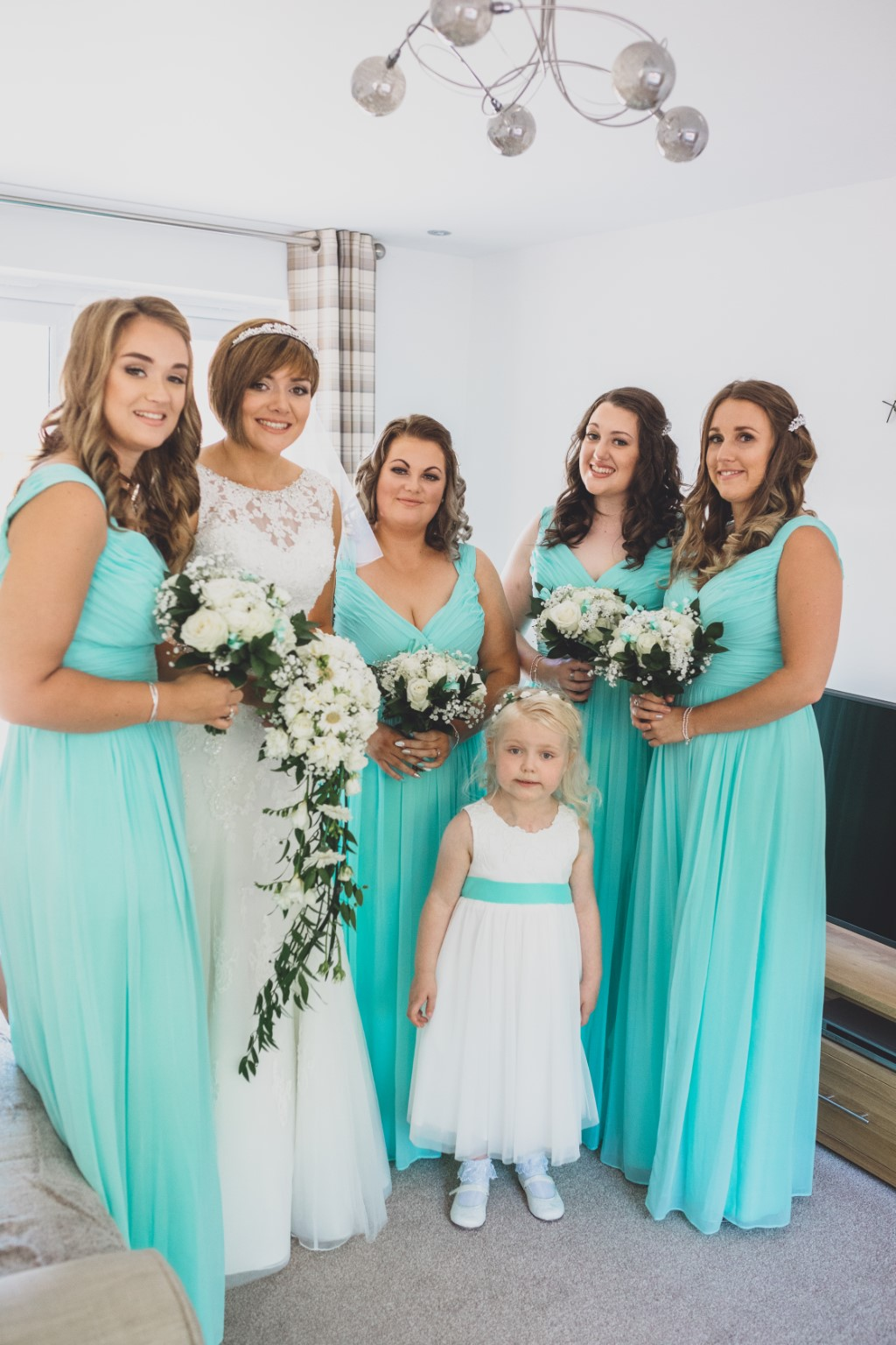 A beautiful Cheshire Wedding at Willington Hall with coastal blue ...