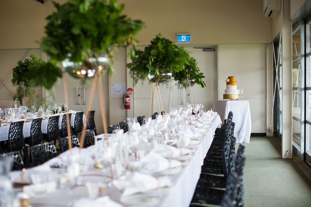 An Elegant Bayside Wedding In Victoria With Pretty Gold Accents Uk