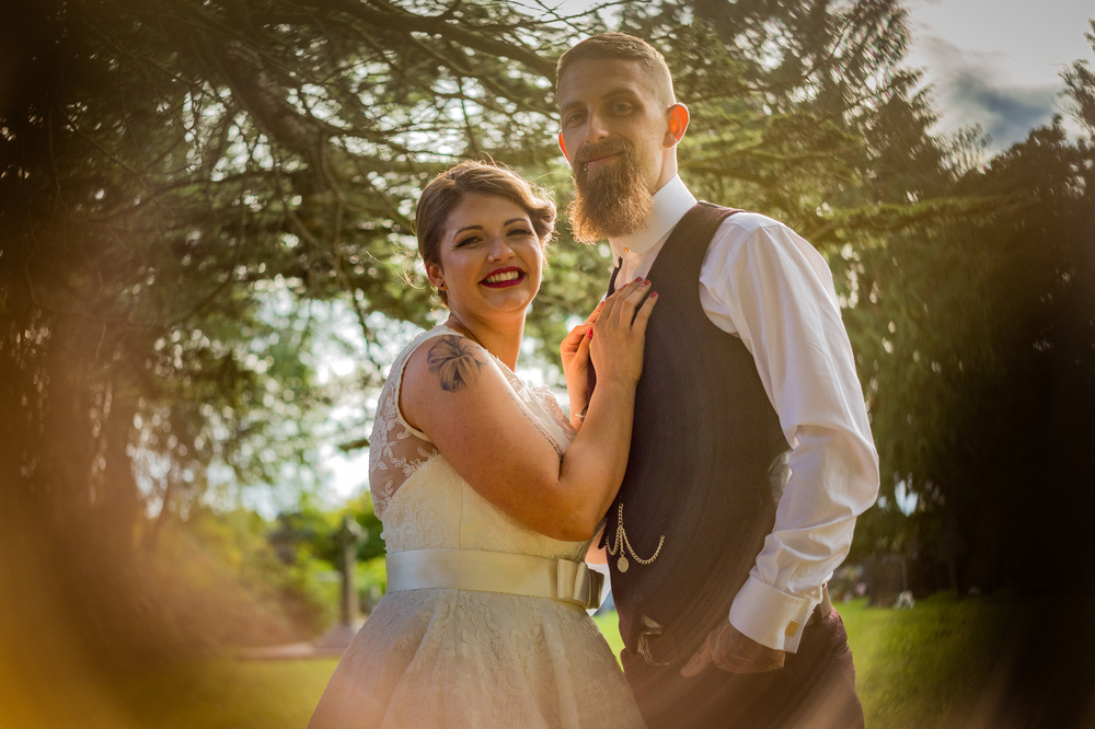 A gorgeous & fun alternative Welsh wedding with aspects of Peaky ...