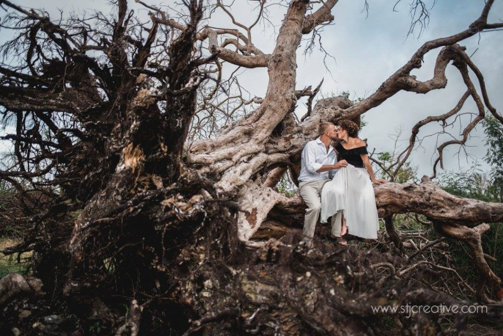 Virgin Islands Engagement Shoot, STJ Creative Photography , Hurricane Irma
