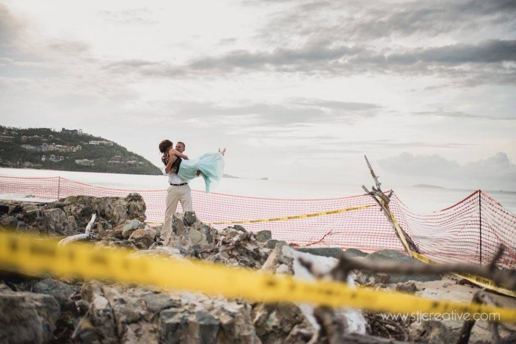 Virgin Islands Engagement Shoot , STJ Creative Photography , Hurricane Irma
