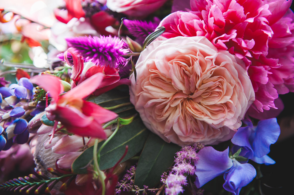 Dark Fairytale inspired Wedding - Wit Photography - wedding flowers - Edenique Floral Design