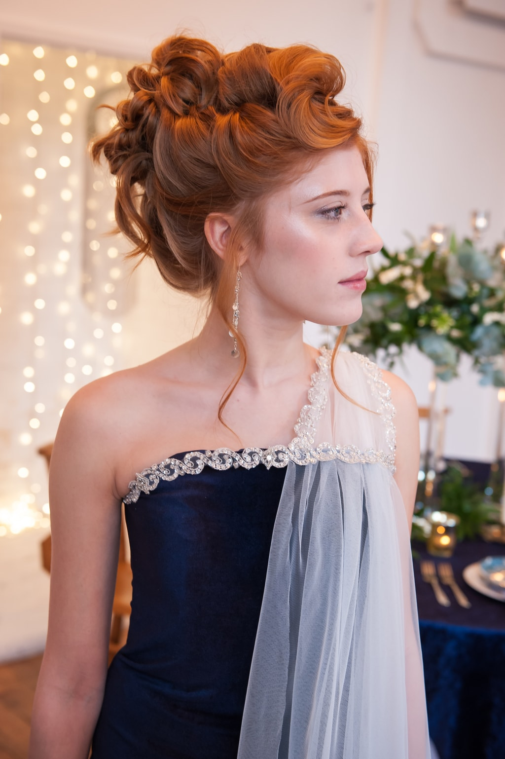 A breathtaking and bold celestial inspired wedding styled shoot - UK ...