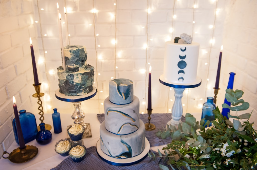 celestial inspired wedding, ever after wedding cakes, star inspired wedding cake, astronomy inspired wedding cake, celestial inspired wedding cake
