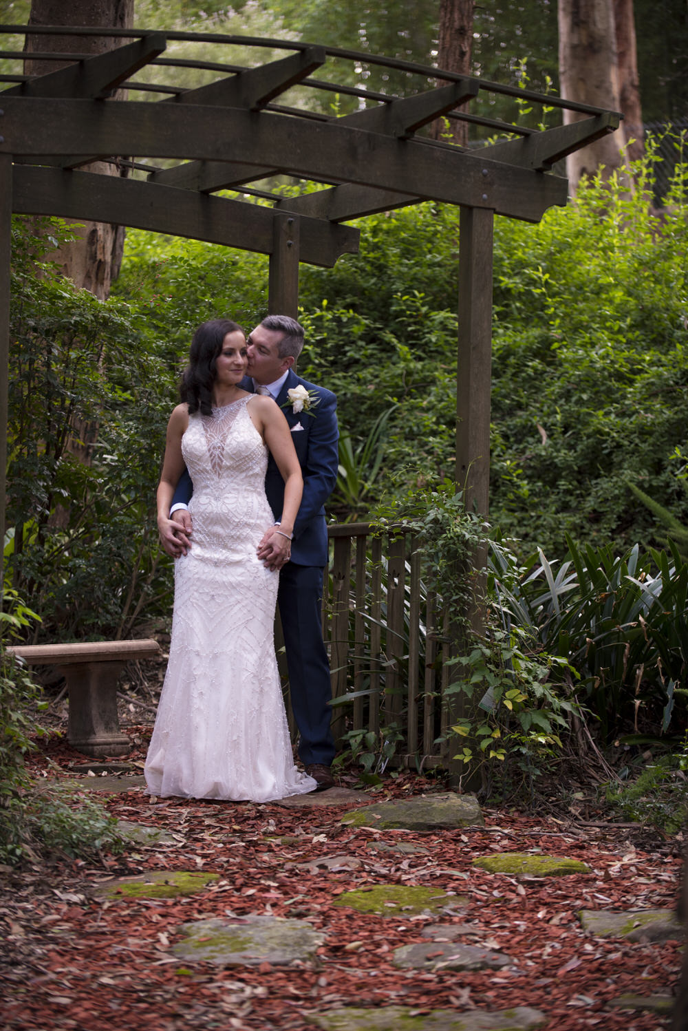A Beautiful Relaxed Lunchtime Wedding In The Sydney Hills With Garden Theme