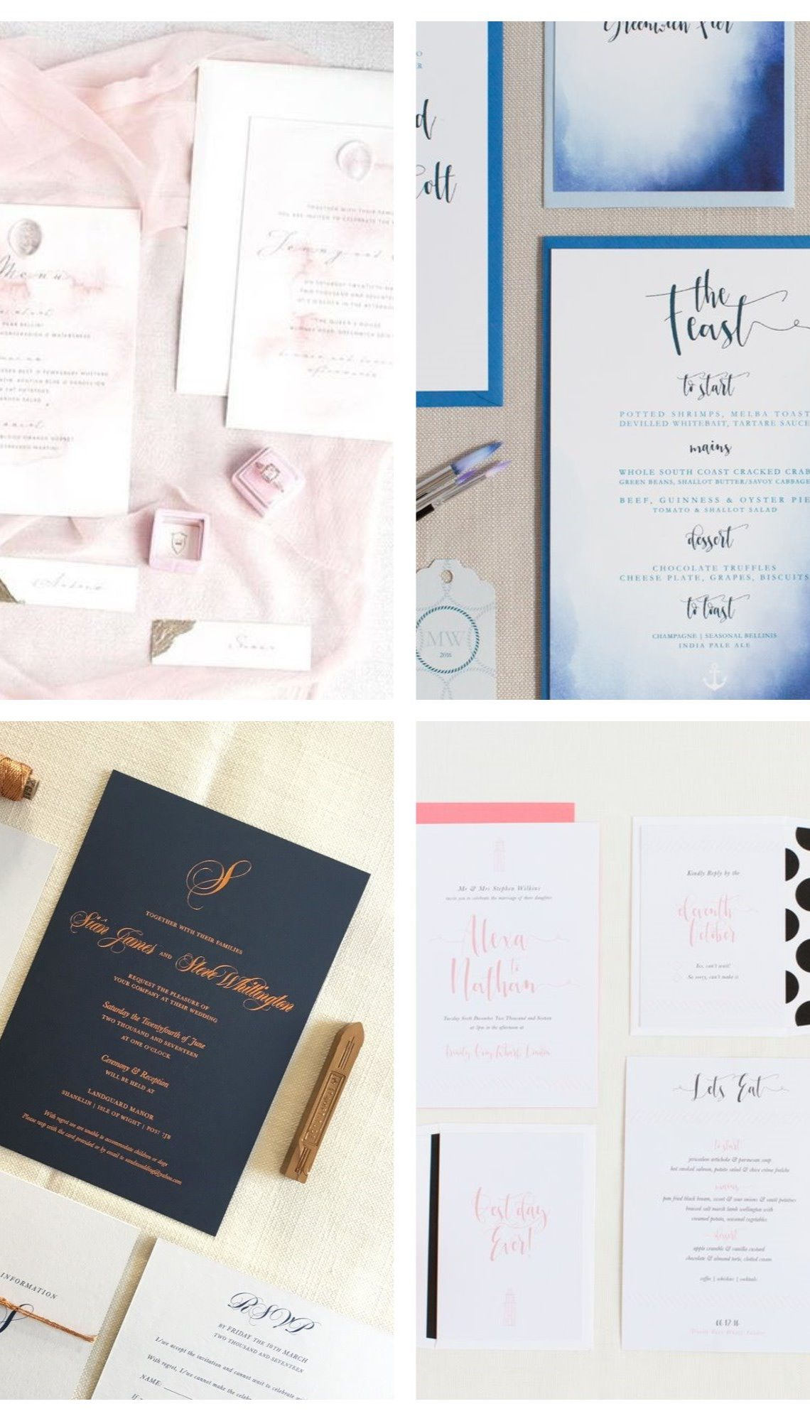 Bespoke Stationery for your beautiful Big Day by LyndaLoves - UK ...