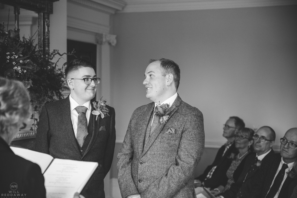same sex autumnal wedding , Photo by Will Reddaway - WR Photography
