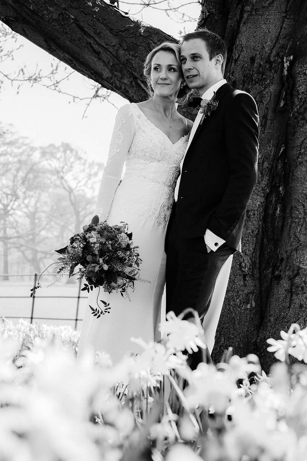 A Natural & Rustic Theme Wedding with colour pop detailing at ...