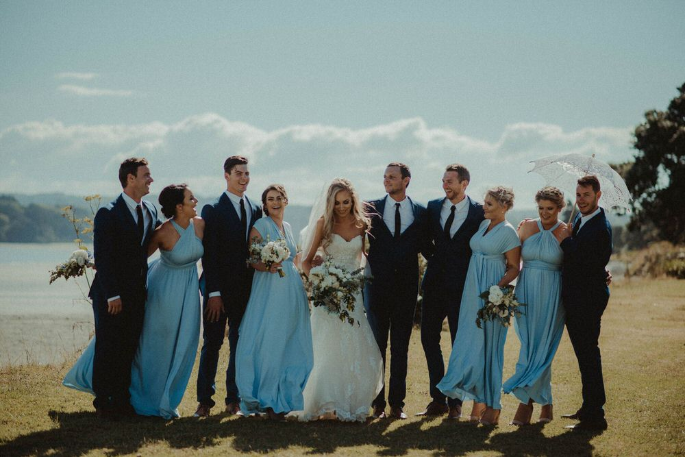 A Relaxed, Rustically Inspired Beach Wedding In New