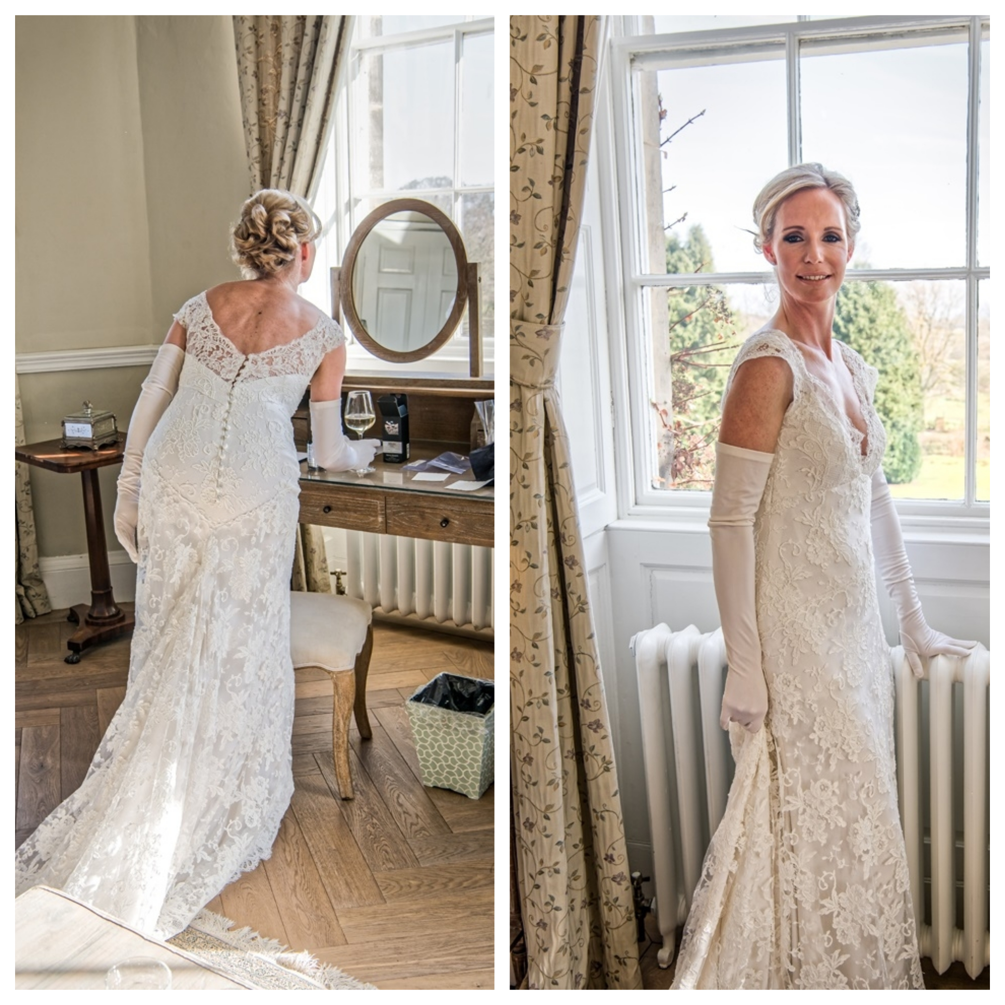 A Hollywood Glamour inspired Wedding in Yorkshire with pale pink and ...