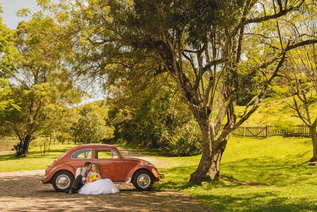 Wedding transport - Volkswagen Fusca 1500 Alugar Teutonia - Book a Classic