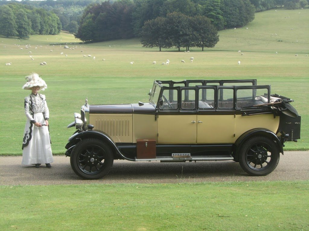 Hadfield Bean - Book a Classic - wedding transport