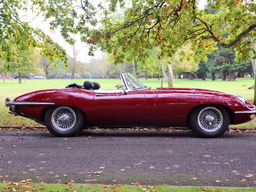 Jaguar E Type - Book a Classic - wedding transport