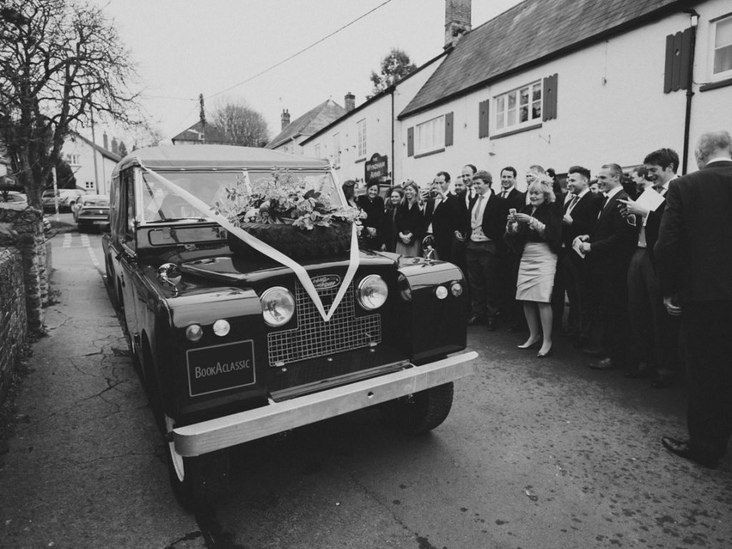 Land Rover - Book a Classic - wedding transport