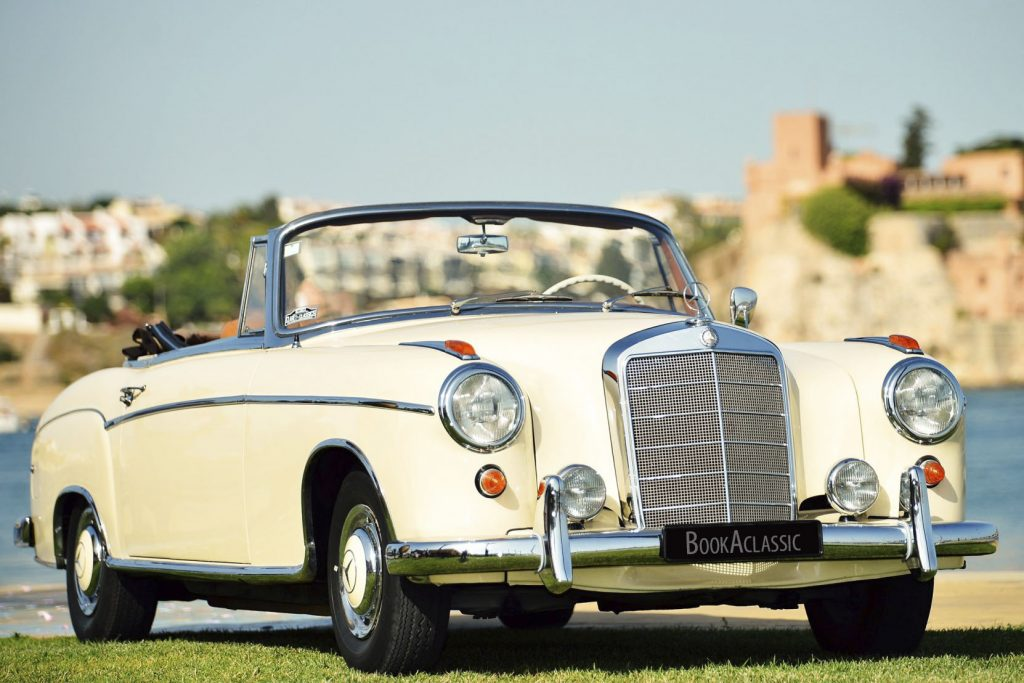 Mercedes-Benz 220 SEb - Book a Classic - wedding transport