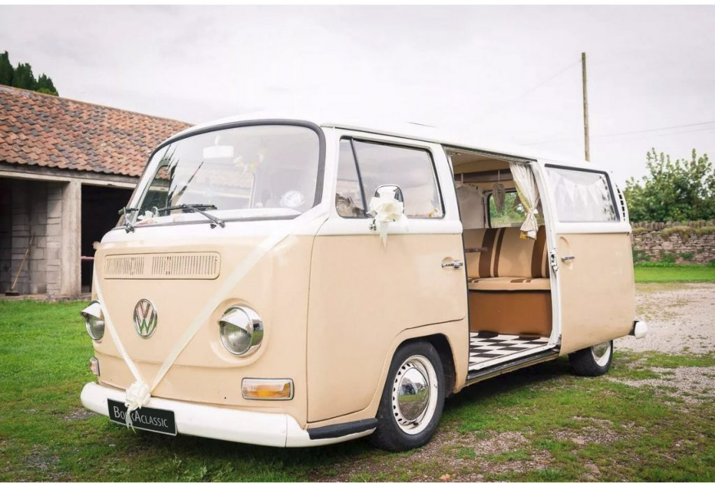 Volkswagen Camper Van - Book A Classic - wedding transport