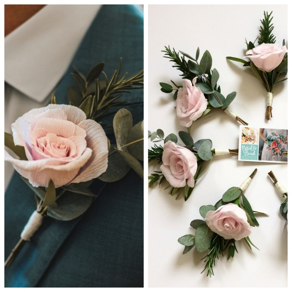 Captivating bespoke paper flowers for your wedding from petal and what mightylinksfo