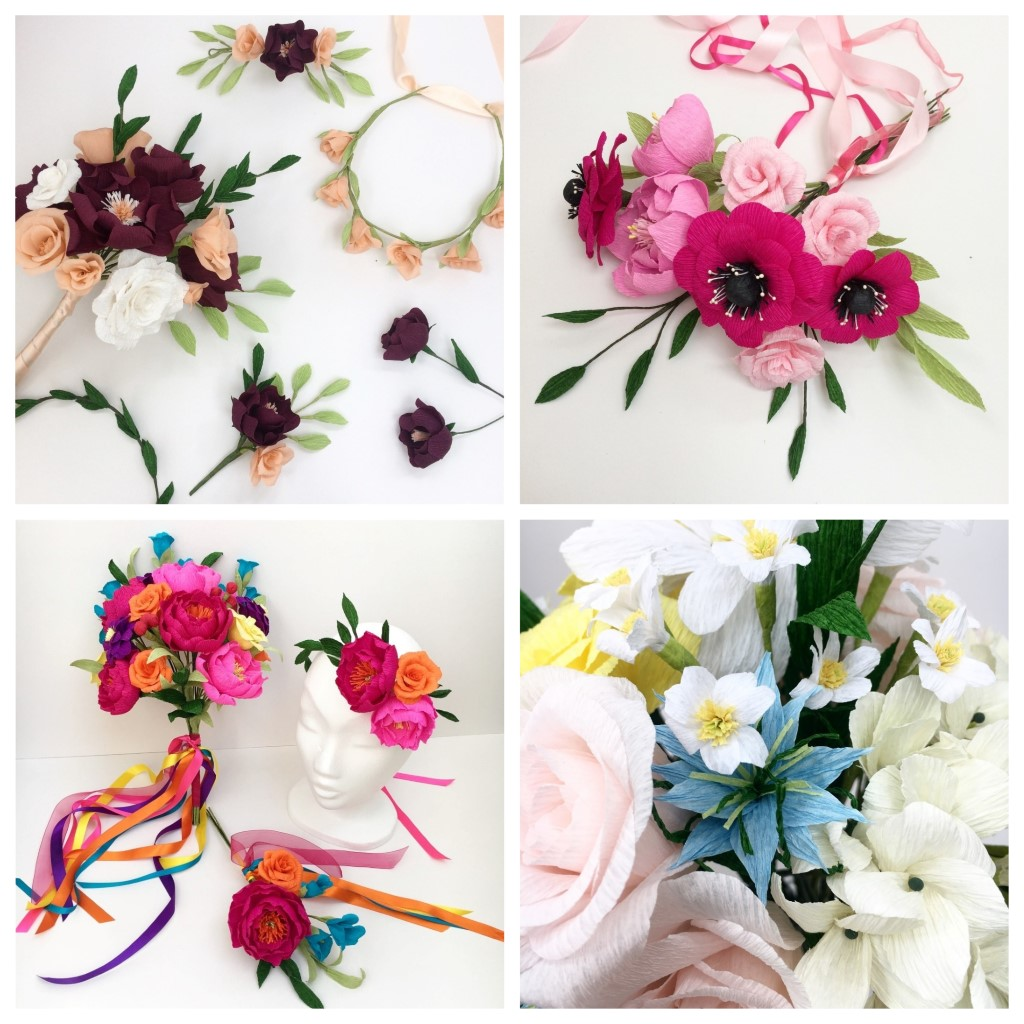 Captivating Bespoke Paper Flowers For Your Wedding From Petal And