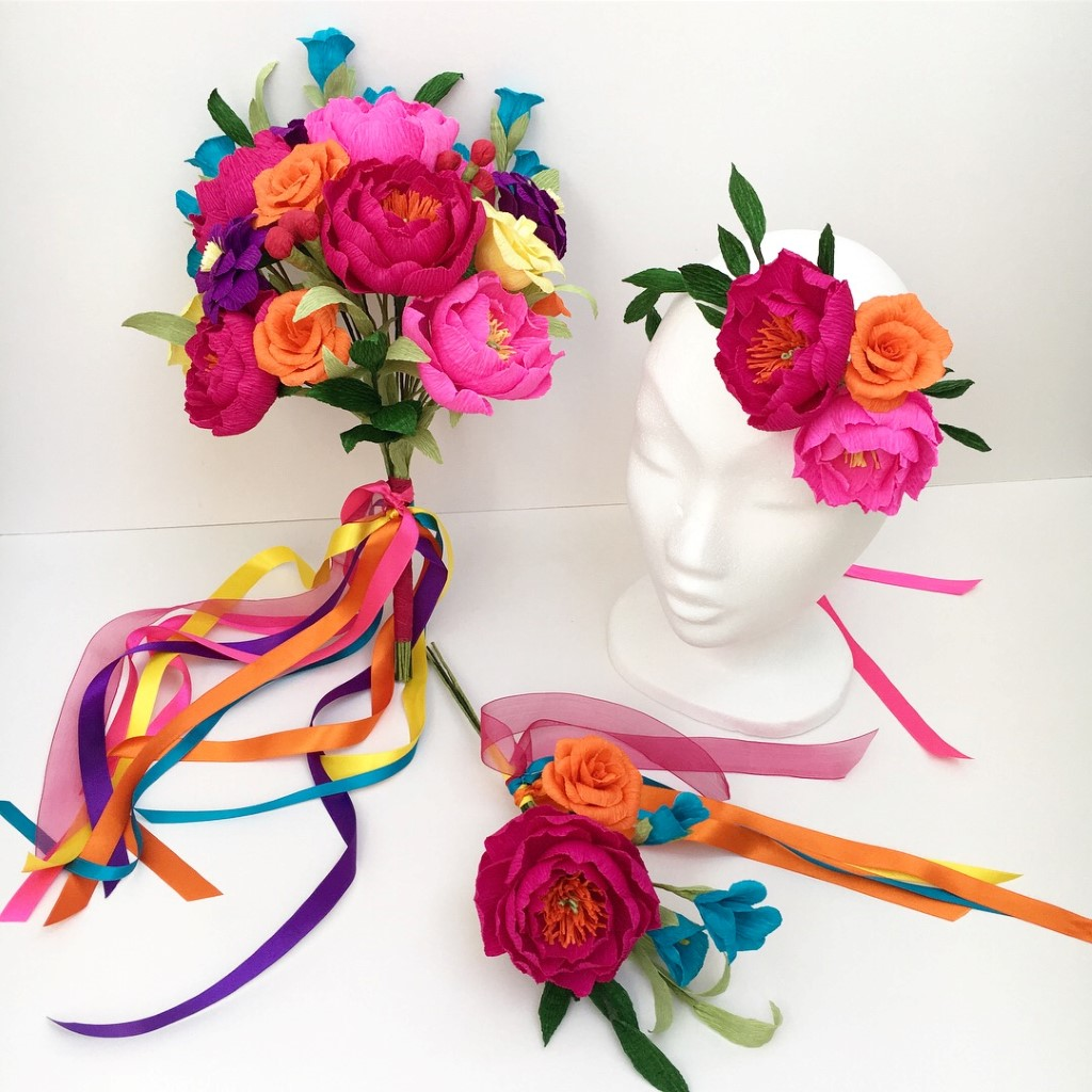 Captivating bespoke paper flowers for your wedding from petal and as mightylinksfo