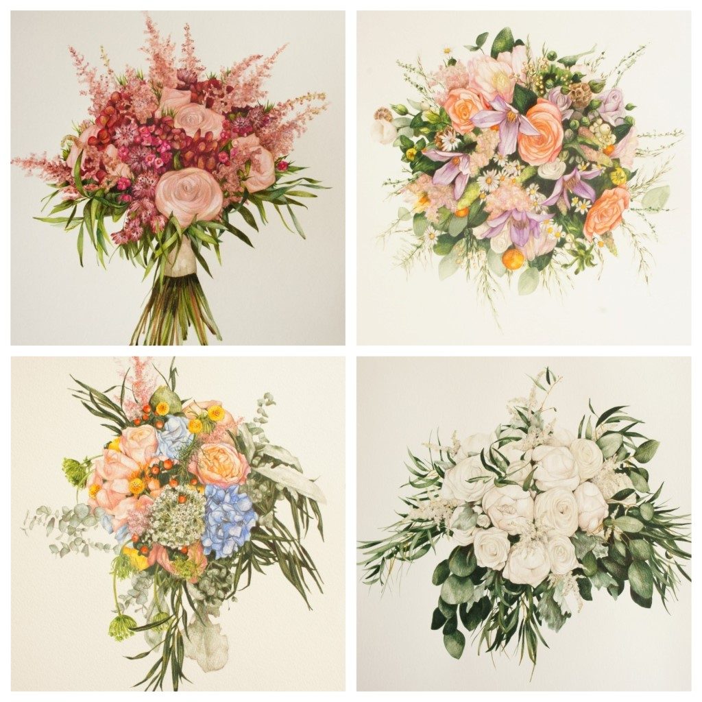 Preserve Your Wedding Flowers With Artwork From The Custom Botanist