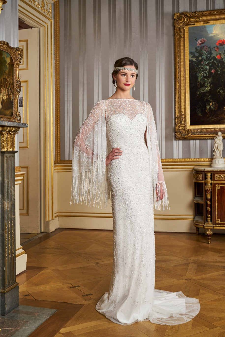 Vintage Inspired Wedding gowns - Eliza Jane Howell - Grand Voyage - Antibes