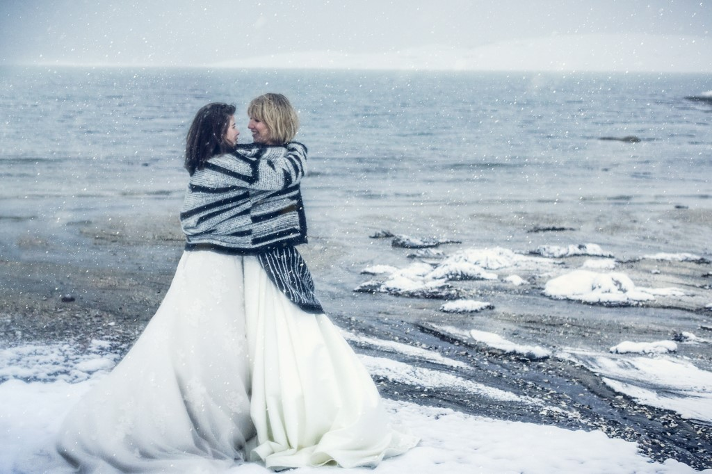 Snowy Couples Shoot - Arctic Circle couples shoot - Bodo Couples shoot - Mjelle couples shoot -Norwegian couples shoot - Del and JJ Wedding Photography